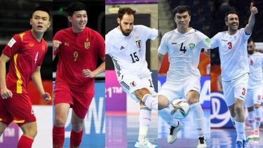 3/5 đại diện của bóng đá châu Á đã chia tay Futsal World Cup 2021.