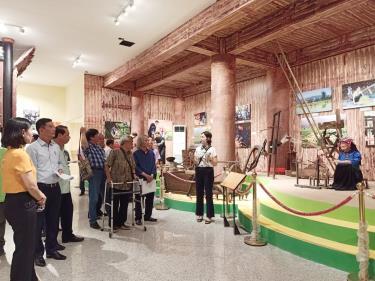 Bảo tàng tỉnh Yên Bái - nơi lưu giữ nhiều tư liệu, hiện vật quý về các dân tộc tỉnh Yên Bái. (Ảnh minh họa)