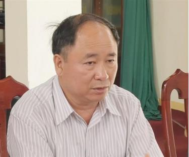 Phó Giám đốc sở Tài nguyên và Môi trường tỉnh Lạng Sơn Nguyễn Đình Duyệt bị kỷ luật cách chức.