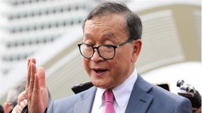 Ông Sam Rainsy tại Malaysia vào tháng 11/2019.