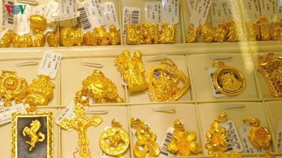 Giá vàng SJC giảm 400.000 đồng/lượng ở chiều mua vào.