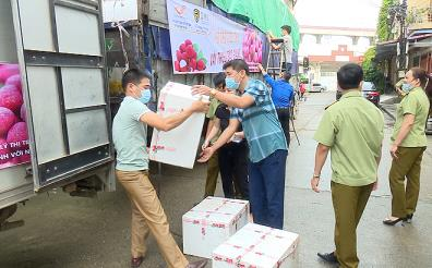 12 tonnes of Bac Giang lychee arrive in Yen Bai province.