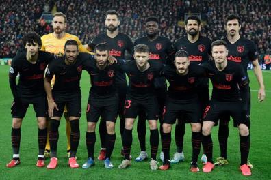 Atletico Madrid là 1 trong 4 đội đã có mặt ở tứ kết Champions League.