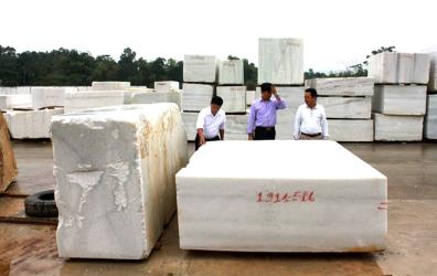 Currently, Yen Bai's granite sales are dependent on the Indian and Italian markets, while the product can be exported to more than 50 countries and territories.