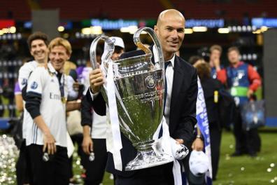 Huấn luyện viên Zidane là nhà cầm quân hàng đầu thế giới với những thành tích đáng nể trong sự nghiệp.