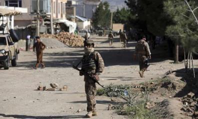 Khoảng 95% quân Mỹ rút khỏi Afghanistan, trong khi Taliban chiếm được 223 khu và tranh chấp 116 khu khác với quân chính phủ.