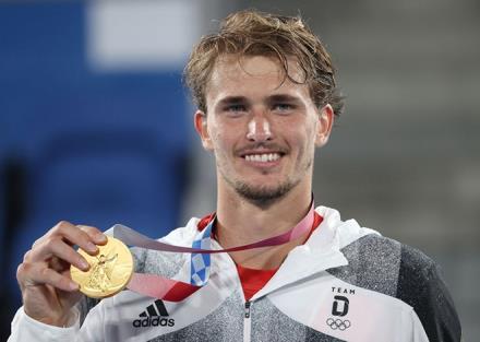 Alexander Zverev giành HCV Olympic Tokyo 2020
